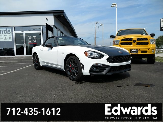 new 2018 fiat 124 spider abarth convertible in council bluffs